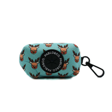 Pablo & Co. Mint Rudolph Poop Bag Holder