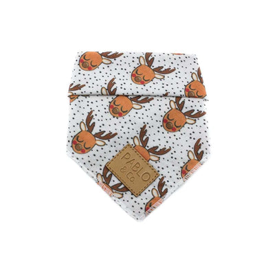 Pablo & Co. White Rudolph Bandana