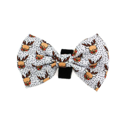 Pablo & Co. White Rudolph Bow Tie