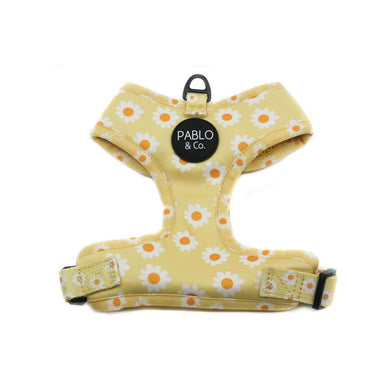 Pablo & Co. Yellow Daisy Adjustable Harness
