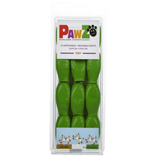 Load image into Gallery viewer, PAWZ Tiny Dog Booties-Lime Green