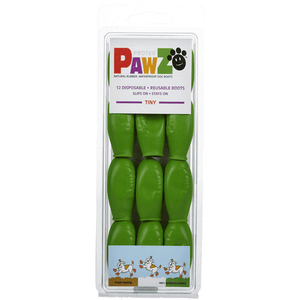 PAWZ Tiny Dog Booties-Lime Green