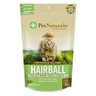 Pet Naturals of Vermont Hairball Chews for Cats