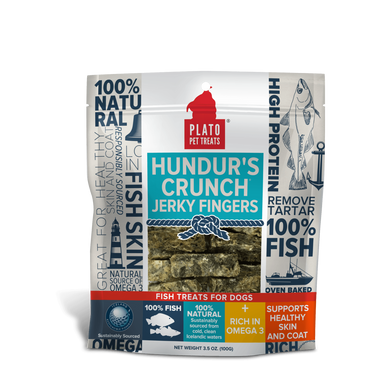 Plato Hundur's Crunch Minis Dog Treats 10 oz.