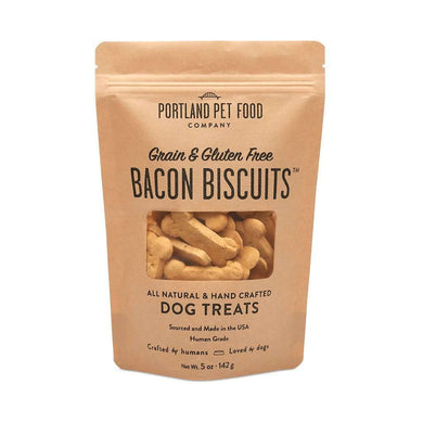 Portland Pet Food Company Grain & Gluten-Free Bacon Biscuits