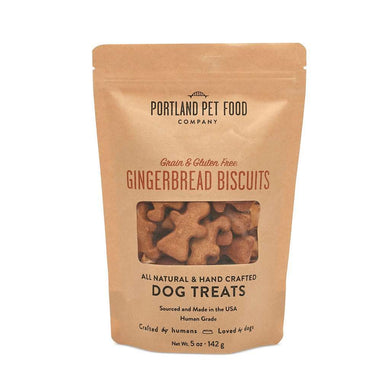 Portland Pet Food Company Grain & Gluten-Free Gingerbread Biscuits