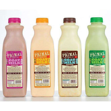 PRIMAL Goat Milk-Pumpkin Spice Recipe with Organic Pumpkin & Ginger 32 oz.