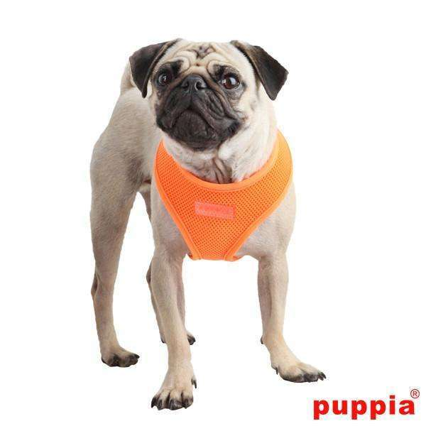 Puppia Neon Soft Vest Harness-Orange