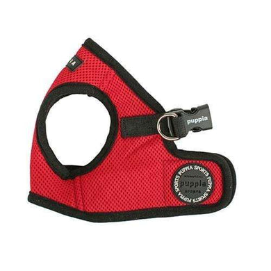 Puppia Sport Mesh Harness-Red