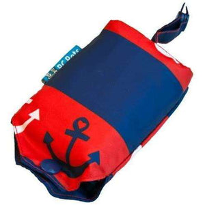 RC Pets Packable Rain Poncho-Nautical