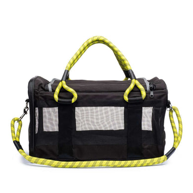 ROVERLUND Out-of-Office Pet Carrier - Black/Yellow - Large