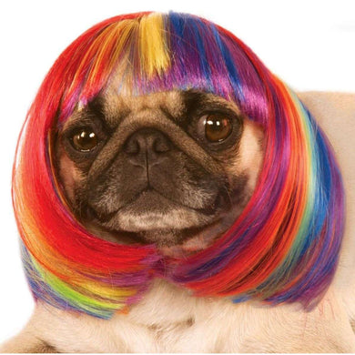 Rubie's Pet Rainbow Wig