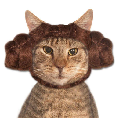 Rubie's Princess Leia Buns Pet Costume-Small