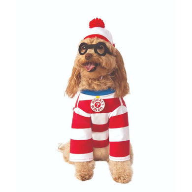 Rubie's Where's Waldo Pet Costume