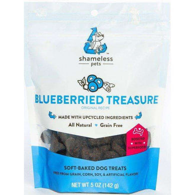 Shameless Pets Blueberried Treasure Dog Treats 5 oz.