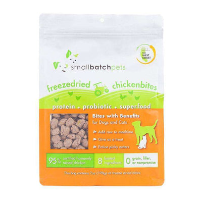 Smallbatch Chicken Bites Single-Source Protein Treats 7 oz.