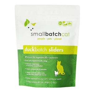 Smallbatch Duck Sliders Frozen Raw Cat Food 3 lb