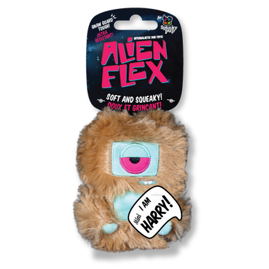 Spunky Pup Harry Alien Dog Toy-Mini