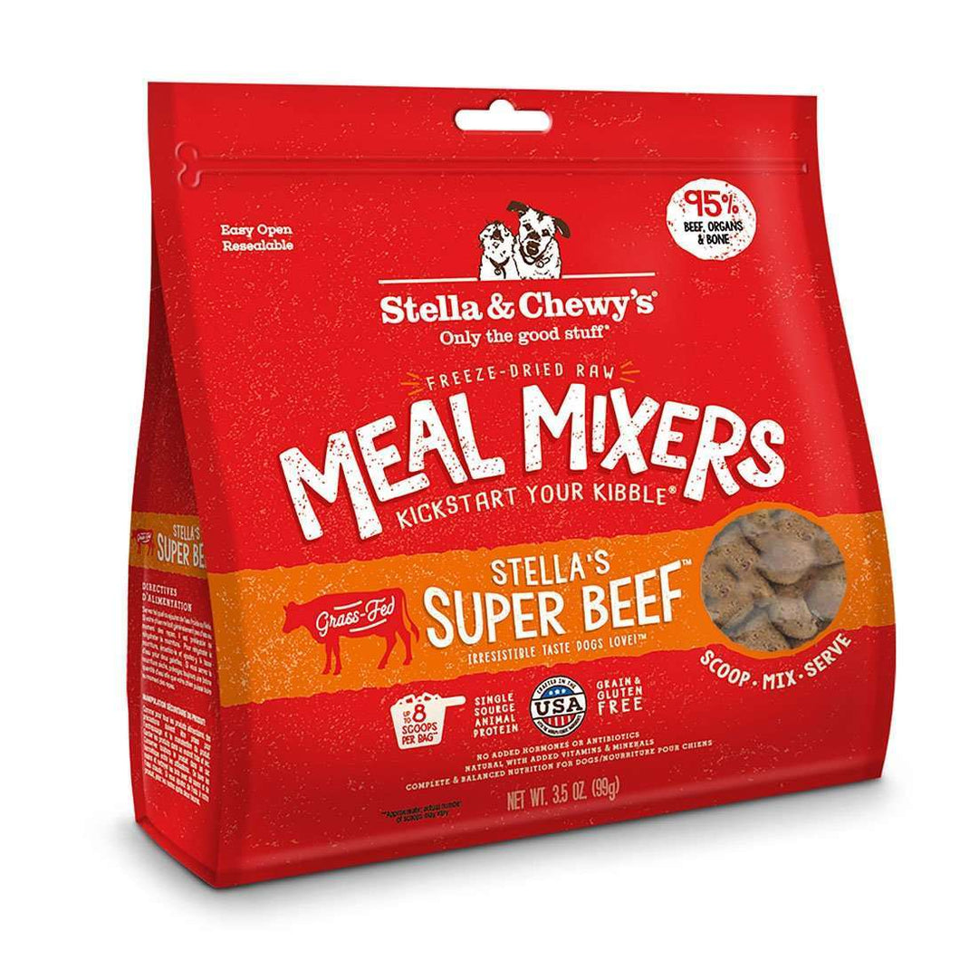 Stella & Chewy's Meal Mixers Beef Formula Raw Dog Food