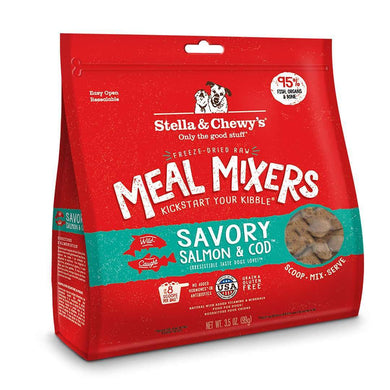 Stella & Chewy's Meal Mixers Salmon & Cod Formula Raw Dog Food