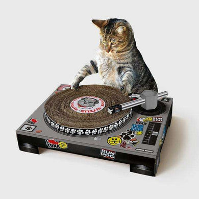 Suck UK DJ Deck Cat Scratcher