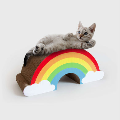 Suck UK Rainbow Cat Scratcher