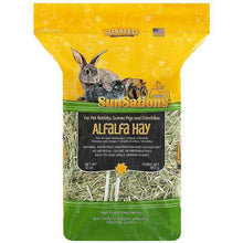 Load image into Gallery viewer, Sunseed Sunsations Natural Alfalfa Hay 32 oz.