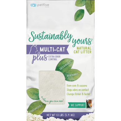 Sustainably Yours Multi-Cat Litter Plus