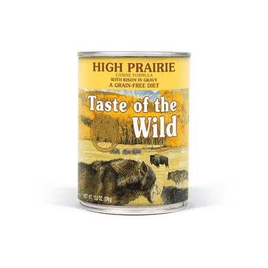 Taste of the Wild High Prairie Formula Canned Dog Food 13.2 oz.