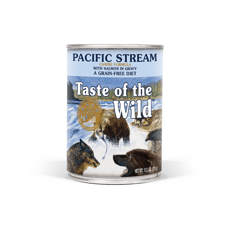 Taste of the Wild Pacific Stream Formula Canned Dog Food 13.2 oz.