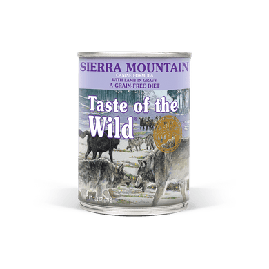 Taste of the Wild Sierra Mountain Formula Canned Dog Food 13.2 oz.