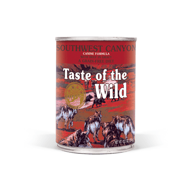 Taste of the Wild Southwest Canyon Formula Canned Dog Food 13.2 oz.