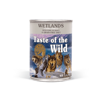 Taste of the Wild Wetlands Formula Canned Dog Food 13.2 oz.