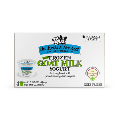 The Bear & The Rat Frozen Goat Milk Yogurt 3.5 oz.