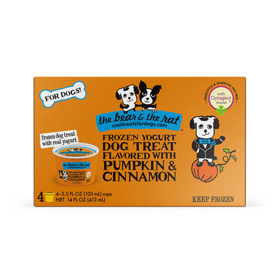 The Bear & The Rat Pumpkin Frozen Yogurt 3.5 oz.
