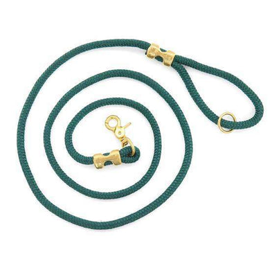 The Foggy Dog Evergreen Marine Rope Dog Leash