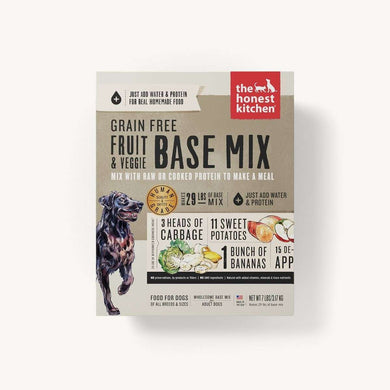 The Honest Kitchen Fruit & Veggie Base Mix-7 lb