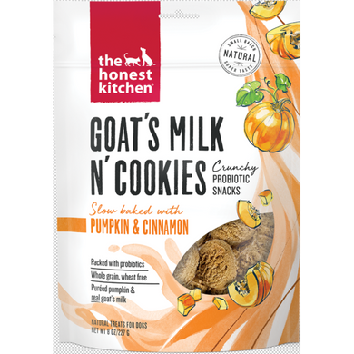 The Honest Kitchen Goats Milk N' Cookies Treats-Pumpkin & Cinnamon