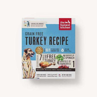 The Honest Kitchen Grain-free Turkey Dehydrated Dog Food 4 lb