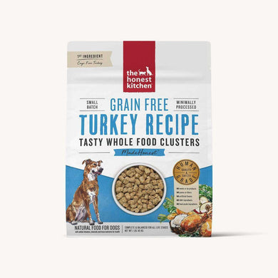 The Honest Kitchen Whole Food Turkey Recipe Grain-Free Clusters