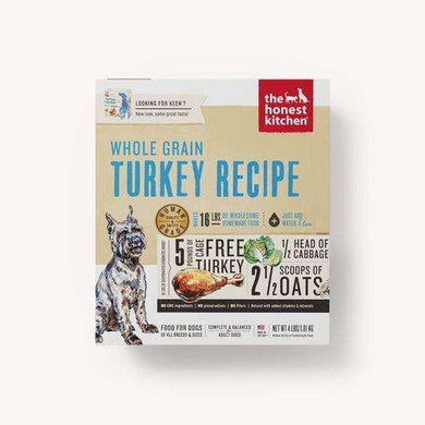 The Honest Kitchen Whole Grain Turkey Dehydrated Dog Food 4 lb