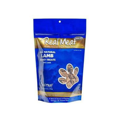 The Real Meat Company Lamb Jerky Dog Treats 12 oz.