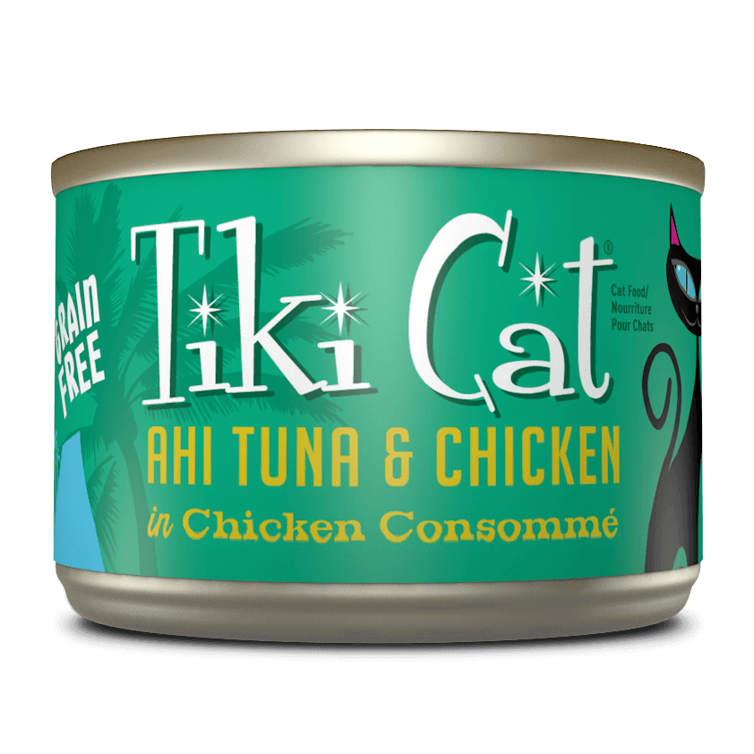 Tiki Cat Hookena Luau Canned Cat Food Case-6 oz