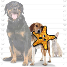 Load image into Gallery viewer, Tuffy Starfish Dog Toy