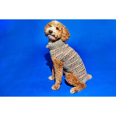 Ware of the Dog Contrast Stitch Turtle Neck