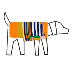 Ware of the Dog Multi Striped Sweater