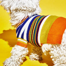 Load image into Gallery viewer, Ware of the Dog Multi Striped Sweater