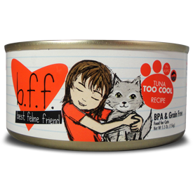 Weruva BFF Too Cool Canned Cat Food 3 oz.
