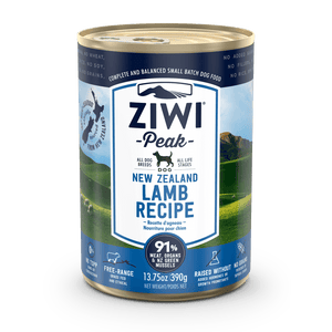 Ziwi Peak Lamb Formula Canned Dog Food 13.75 oz.