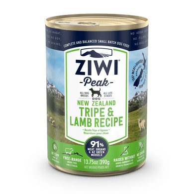 Ziwi Peak Tripe & Lamb Formula Canned Dog Food 13.75 oz.